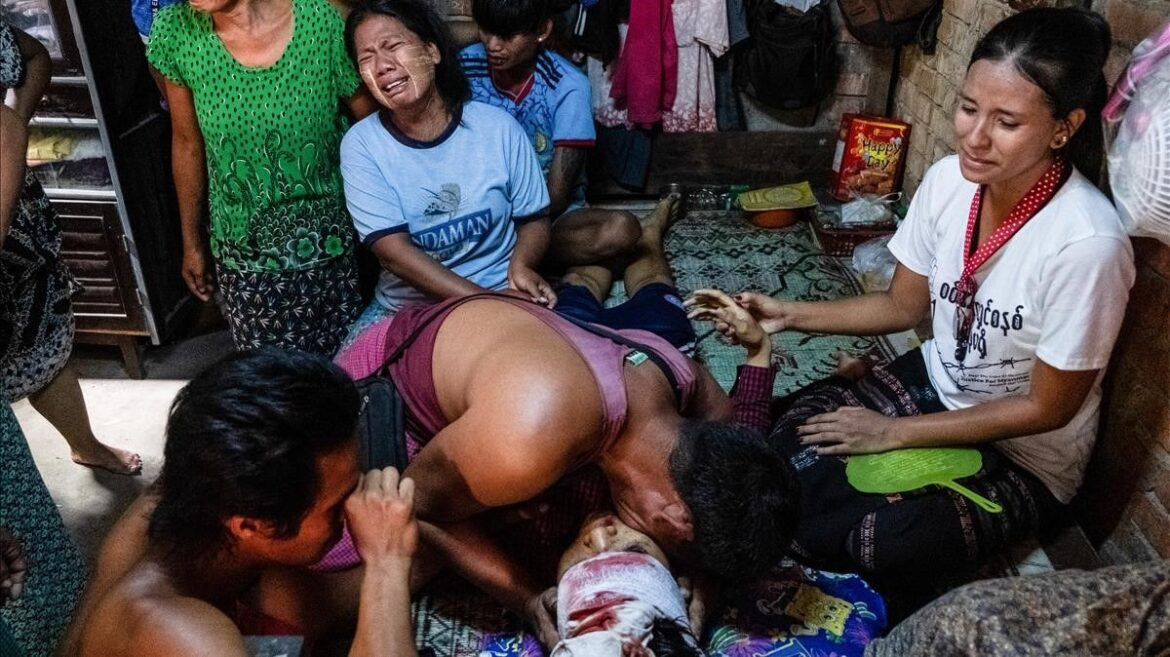 Bloodbath In Burma By Burmese Military
