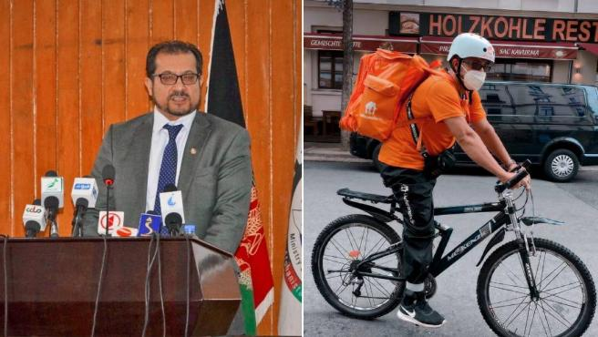 Sayed Sadaat, From Minister Of Communications In Afghanistan To 'Rider' In Germany